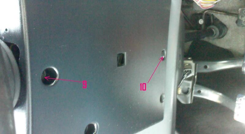 Remplacement radiateur chaufage Photo016