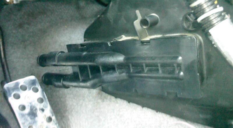 Remplacement radiateur chaufage Photo040