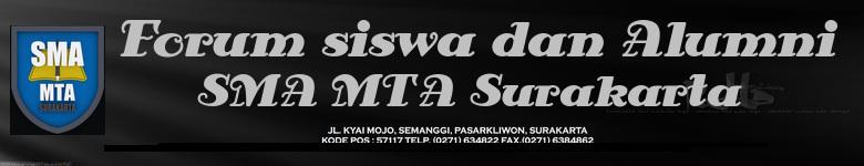FORUM SISWA SMA MTA