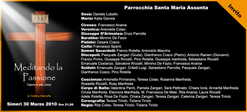 Parrocchia Santa Maria Assunta - SIMERI Invito10