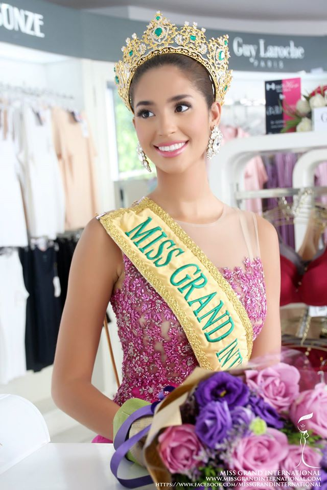 Anea García- MISS GRAND INTERNATIONAL 2015- RESIGNED - Page 2 12240810
