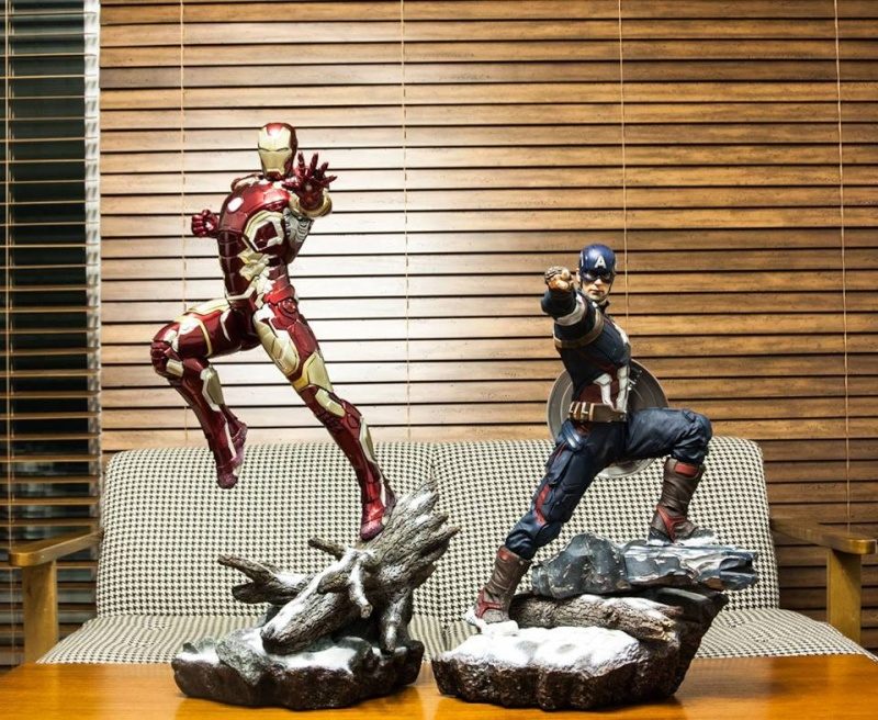 IRON STUDIOS: CAPTAIN AMERICA AVENGERS AGE OF ULTRON LEGACY 1/4 SCALE - Page 6 12508910
