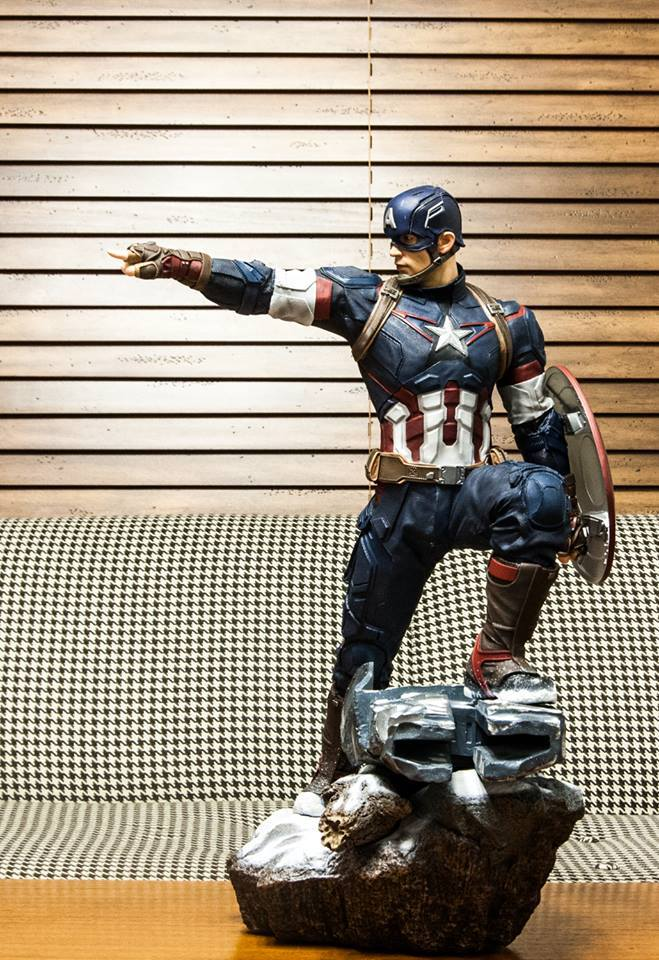 IRON STUDIOS: CAPTAIN AMERICA AVENGERS AGE OF ULTRON LEGACY 1/4 SCALE - Page 6 12509810
