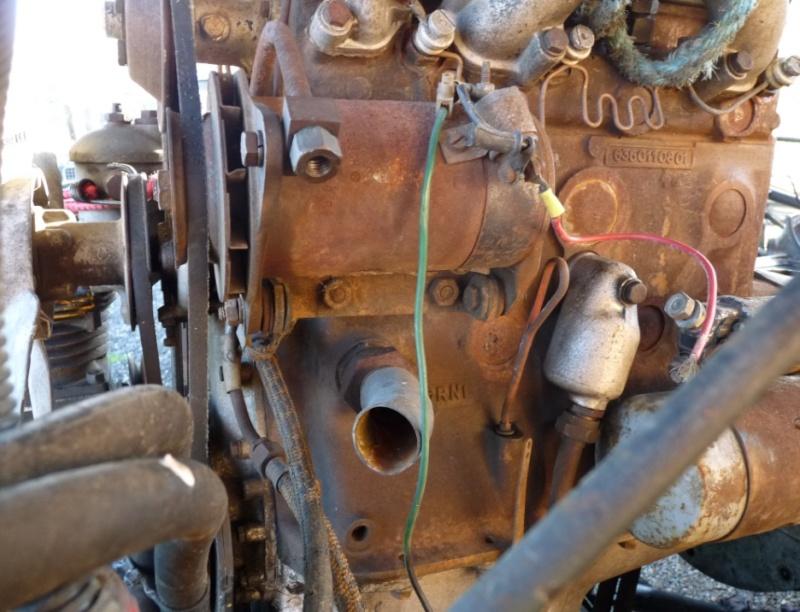 que manque t'il sur mon moteur ? Fm2710