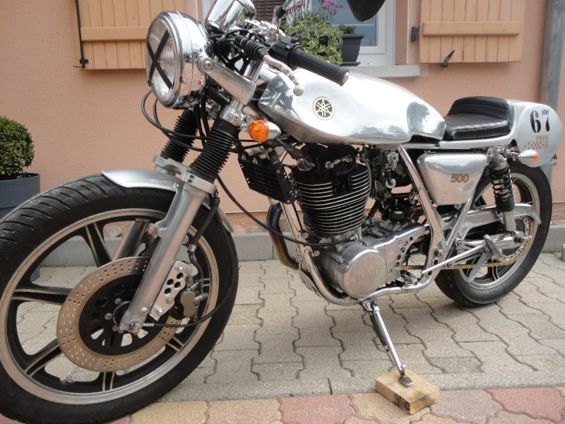 Yamaha sr 500 café racer enfin terminé! Dsc05213