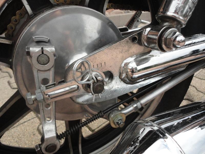Yamaha sr 500 café racer enfin terminé! Dsc05215