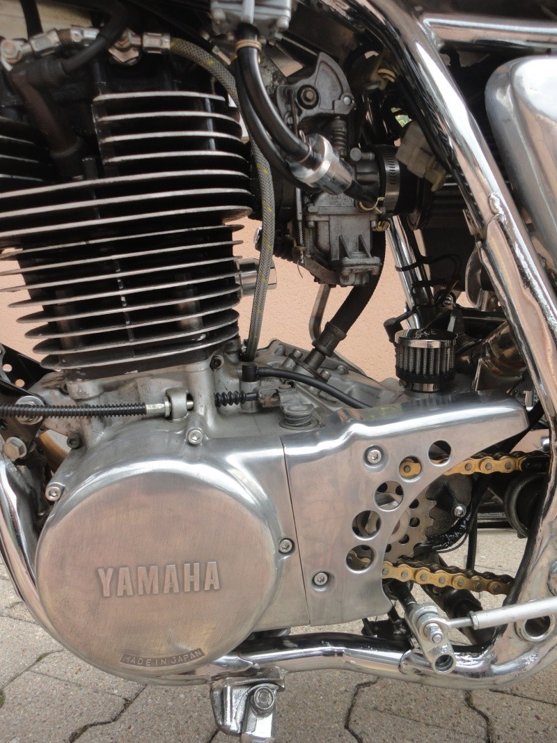 Yamaha sr 500 café racer enfin terminé! Dsc05217