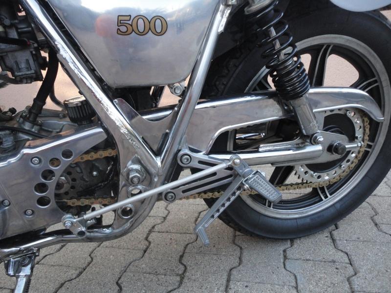 Yamaha sr 500 café racer enfin terminé! Dsc05218