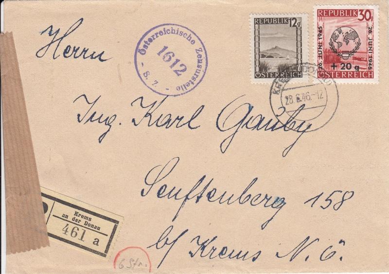 Sammlung Bedarfsbriefe Österreich ab 1945 - Seite 6 Img27