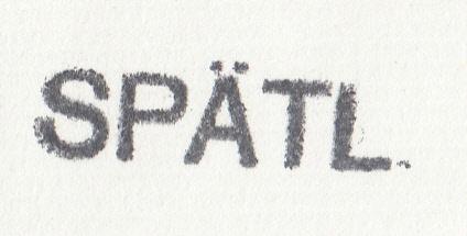 """Stempel """"Spätling"""" Img_0035"""