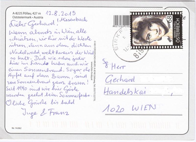 Sammlung Bedarfsbriefe Österreich ab 1945 - Seite 6 Img_0073