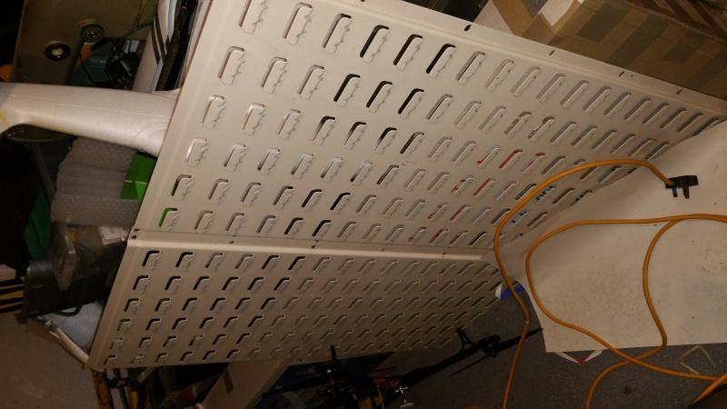 Storage bins and wall plate. 14487211