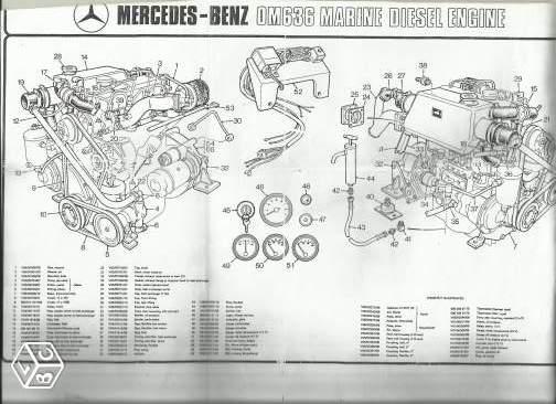 L' OM636 à 45 ch   en version marine Om_63612