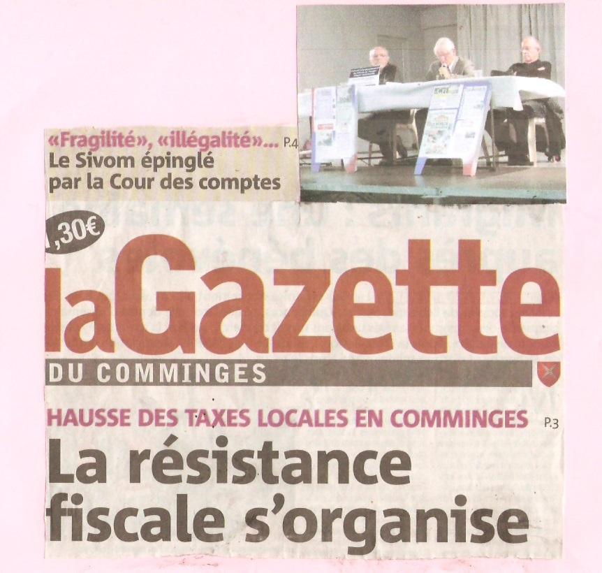 La Gazette du comminges Lagaze13