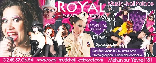 MEHUN SUR YEVRE - Royal Music Hall Palace 410