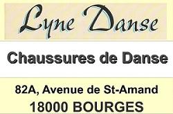 i23. BOURGES - LYNE DANSE - Chaussures de danse  Lyne_110