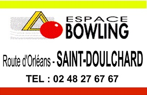 zh15. ST-DOULCHARD - ESPACE BOWLING  St-dou10