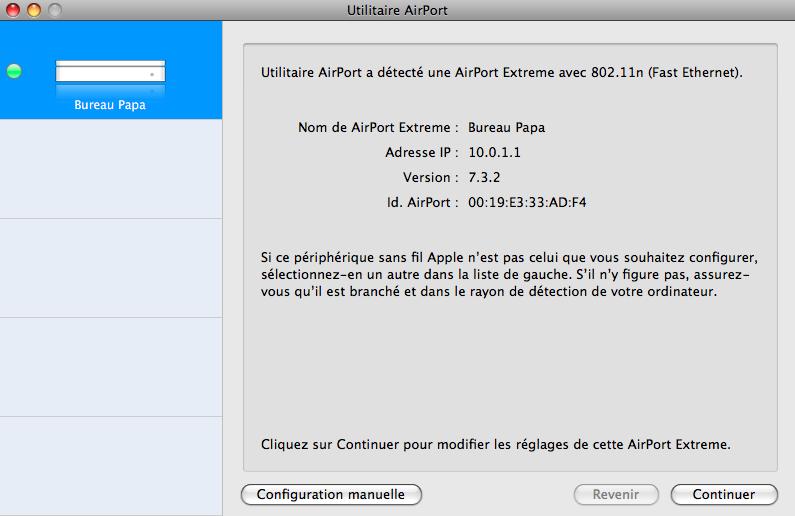 Lapin tout orange : Nabaztag/tag + Mac + Airport Extreme (version N) (WPA) Image_20