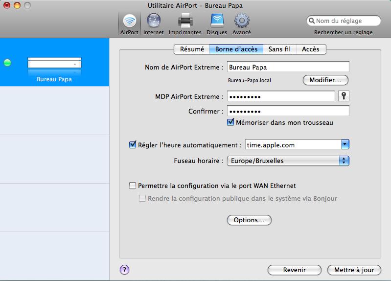Lapin tout orange : Nabaztag/tag + Mac + Airport Extreme (version N) (WPA) Image_23