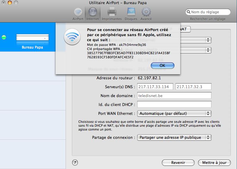 Lapin tout orange : Nabaztag/tag + Mac + Airport Extreme (version N) (WPA) Image_27