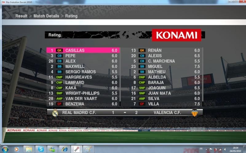 Quart de Final:REAL MADRID vs FC VALENCE(Qualifié) Notes_15