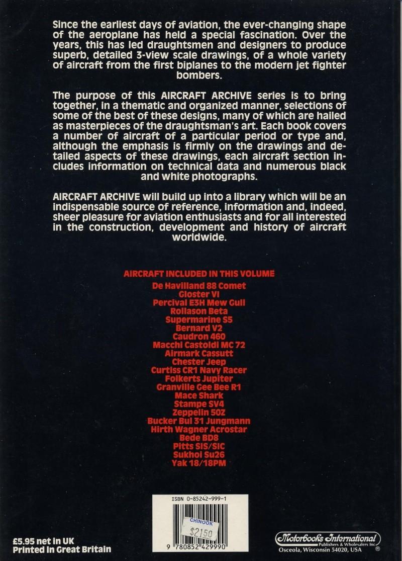 Référence intéressante : The Air Racer Aircra11