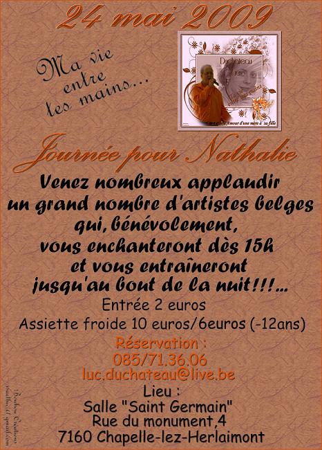 Spectacle pour la bonne cause le  Dimanche 24/05/2009 Affich10