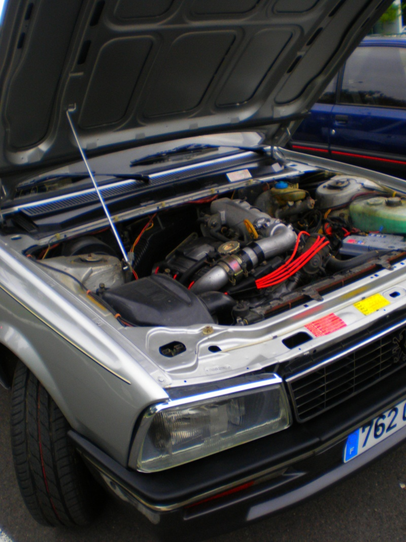 shooting 505 turbo injection et 205 gti 130
