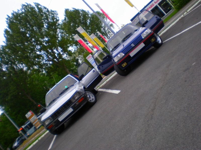 Shooting 505 turbo injection et 205 GTI 130 P5070012