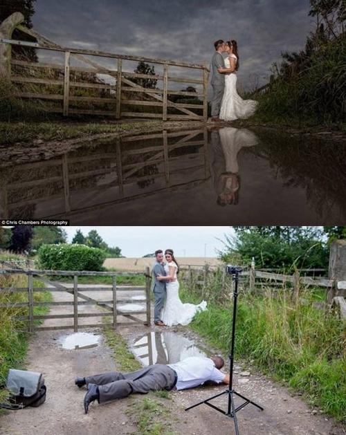 Hậu trường chụp ảnh cưới 'bá đạo' của các cặp đôi Anhcuo10