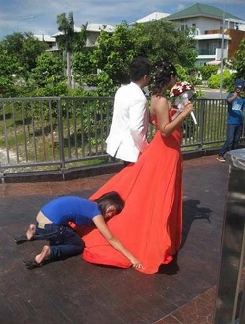 Hậu trường chụp ảnh cưới 'bá đạo' của các cặp đôi Anhcuo11