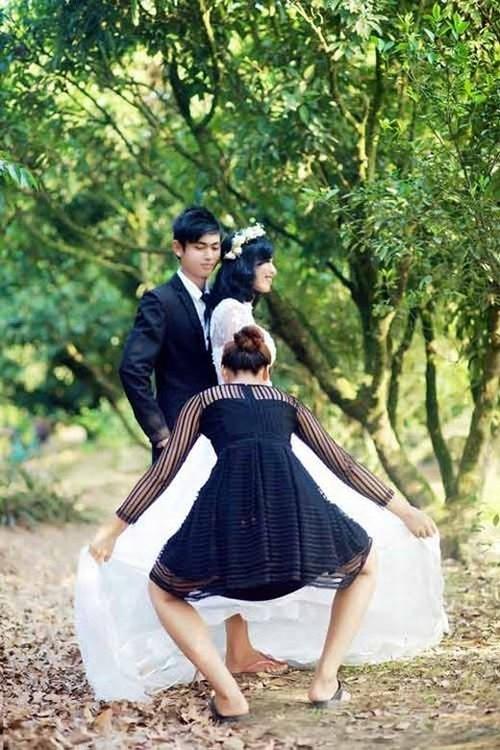 Hậu trường chụp ảnh cưới 'bá đạo' của các cặp đôi Anhcuo14