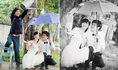 Hậu trường chụp ảnh cưới 'bá đạo' của các cặp đôi Anhcuo16
