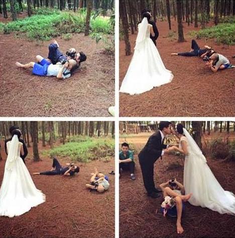 Hậu trường chụp ảnh cưới 'bá đạo' của các cặp đôi Anhcuo18