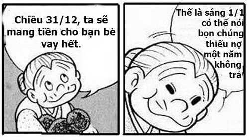 Ảnh hài hước về Tết dương lịch Doremo10