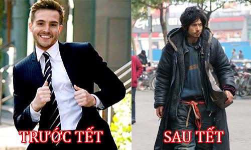 Sự khác biệt hài hước giữa trước và sau Tết Untitl10