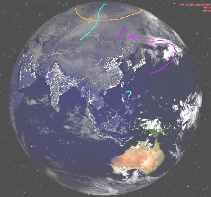 phénomènes climatiques à répétition : cyclones Cart1411