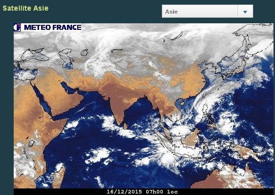 phénomènes climatiques à répétition : cyclones Cart1612