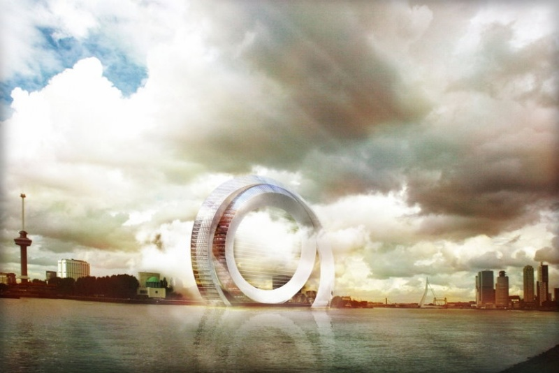 Une turbine à vent de 174 mètres habitable Turbin10