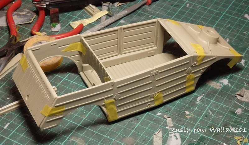 Kubelwagen [1/15 VERLINDEN] Pc202514