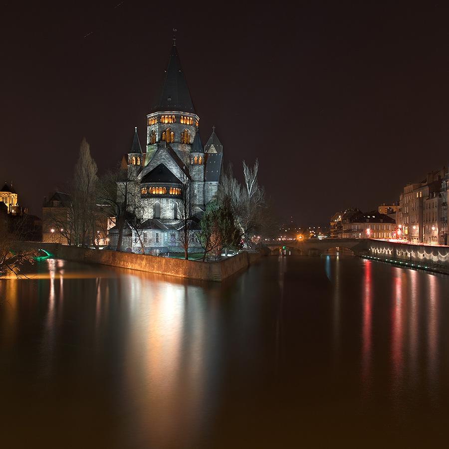 Visite de Metz le 06 mars 2010 début d'après midi avec photos de nuit ... : les photos - Page 3 Temple10