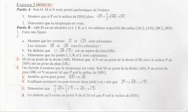 exercice vecteurs Numari11