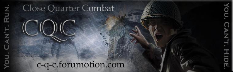 Close Quarters Combat