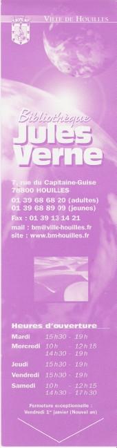 Bibliothèque Jules Verne DE Houilles Numa1292
