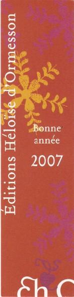 Editions héloïse d'ormesson Numar314