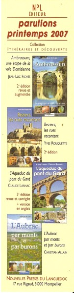 NPL ou Nouvelles presses du languedoc Numar346