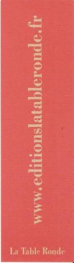 La Table ronde éditions Numar371