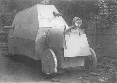 La Panzer auto Junovicz 1917. 676_0010