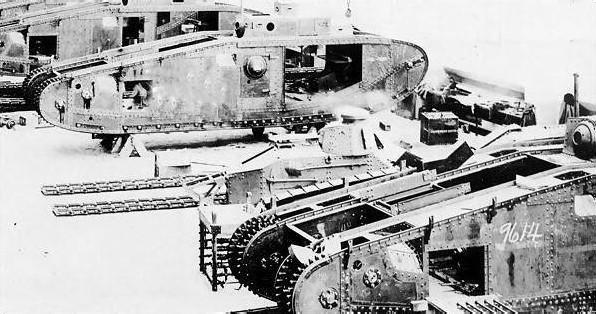 Chars américains de la Grande Guerre. 841_0010