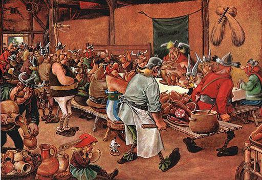Le repas de noce (1568) de Pieter Bruegel, dit Bruegel l'Ancien. 87246210